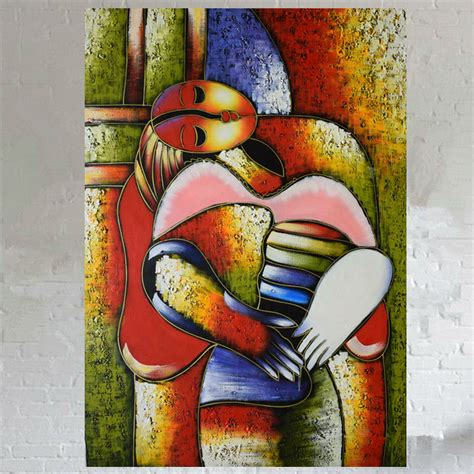handmade oil painting  canvas abstract famous
