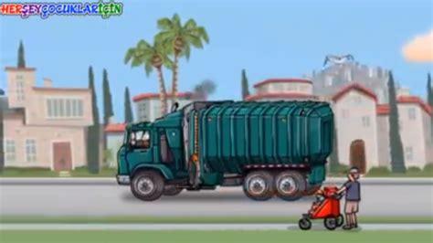 çöp Kamyonu Boyama çizgi Filmi Resimlere Göre Ara Red