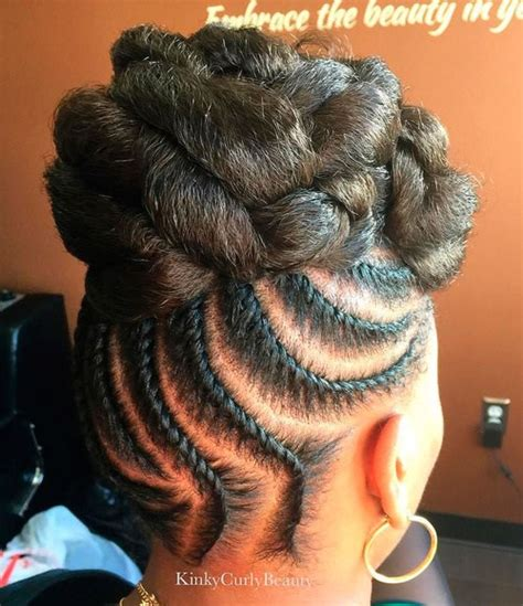 Updos With Twist Hairstyles by 20 Flat Twist Hairstyles For This Year
