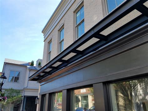 metal awnings canopies  haven awning