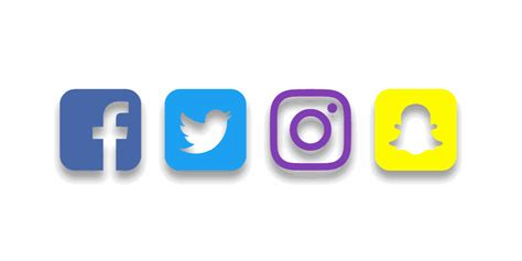floating font awesome rounded corner social icons