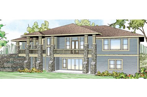 prarie style homes prairie style house plans northshire 30 808 associated