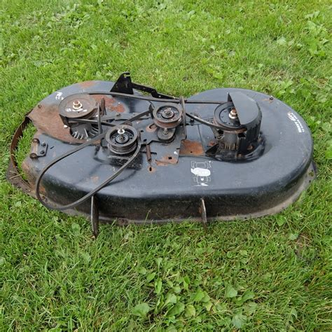 Used Mower Decks On Ebay by Used Craftsman 42 Quot Mower Deck Fits Lt1000 Ebay