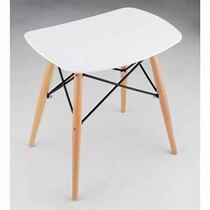 Tabouret Bas Scandinave : tabouret design skoll en bois drawer ~ Teatrodelosmanantiales.com Idées de Décoration