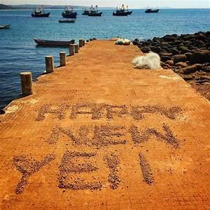 Latest Happy New Year Beach Images 2019 For Beach Lovers