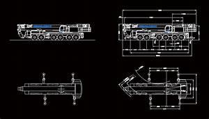 Crane Demag Ac 300 Dwg Plan For Autocad  U2022 Designs Cad