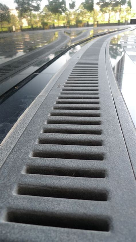 Channel Trench Drain / Storm Drain Cover   Decorative
