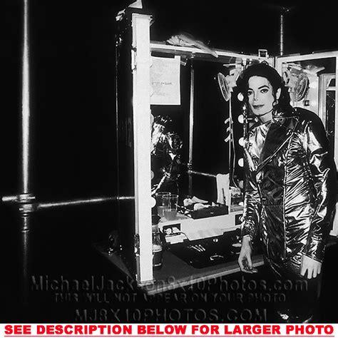 MICHAEL JACKSON HISTORY TOUR BACKSTAGE 3RARE8x10 PHOTOS
