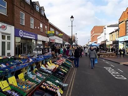 Market Sittingbourne Kent Street Visit Friday Shopping