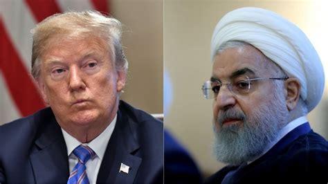 trump tegen iran waag het niet om de  nog eens te bedreigen rtlz
