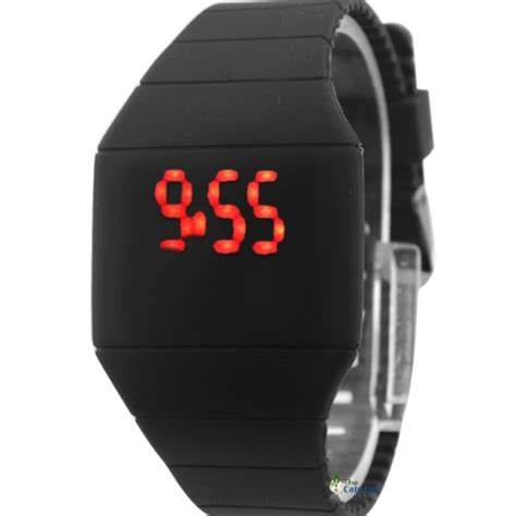 Led Lights For Display Case by 1 Touch Screen Led Watch Cheap Price Ultra Thin Plastic
