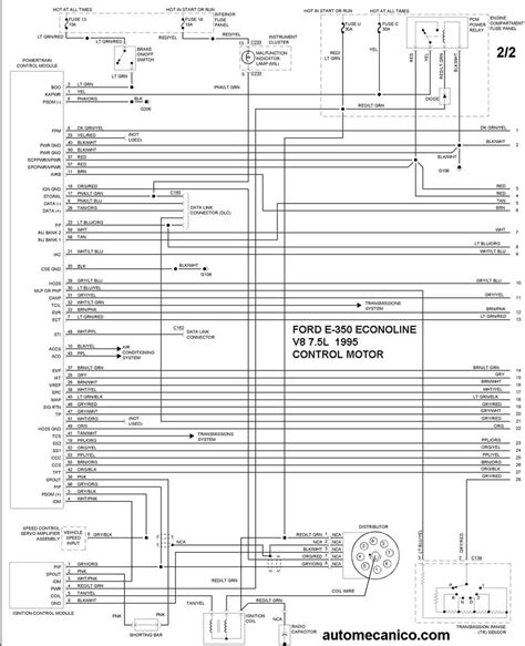 Club De Diagrama by Ford Diagramas Motor 1995 Econoline