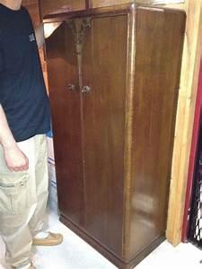 Armoire Art Deco : antique hunter art deco armoire wardrobe for sale ~ Melissatoandfro.com Idées de Décoration