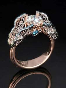 unique very unique engagement rings designs heroulocom With cool wedding ring ideas