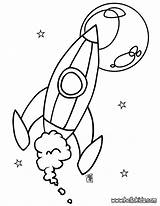 Coloring Pages Spaceship sketch template