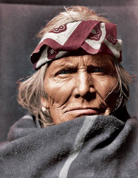 16 Recolored Historical Photos Of Native Americans