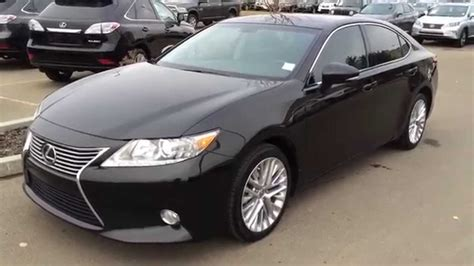 lexus certified pre owned black  lexus es  fwd