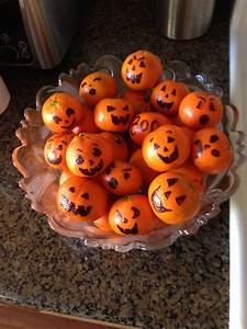 Halloween Snacks Selber Machen : einfache halloween deko und leckerer snack zugleich halloween mandarinen lustige ideen ~ Eleganceandgraceweddings.com Haus und Dekorationen