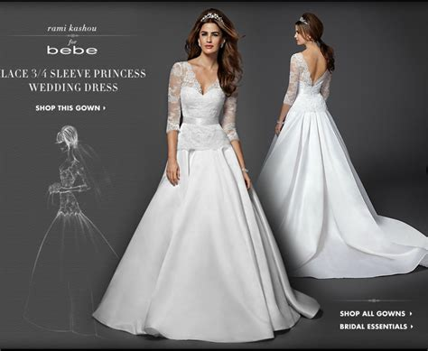 Bebe Bridal Has Arrived With A Kate Middleton Gown, Of