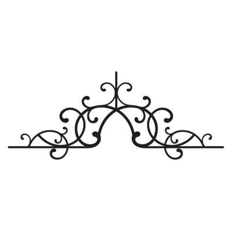 antoinette wrought iron headboard wall quotes wall art