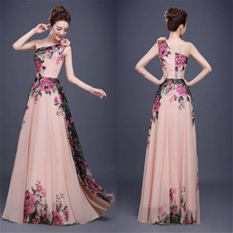 what color prom dress should i get one shoulder color combination prom dress chiffon evening