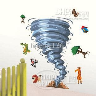 removable boy room tornado xcm wall sticker art mural