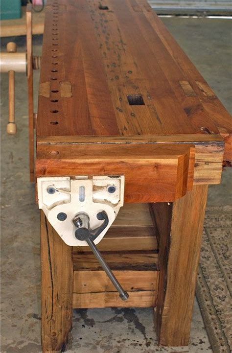 leg vise roubo bench lake erie toolworks woodworking
