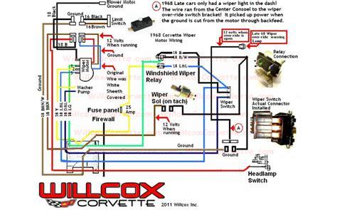 1969 ford mustang wiper motor wiring get free image