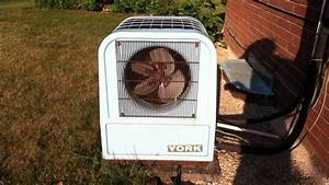 York Tombstone Air Conditioner Running