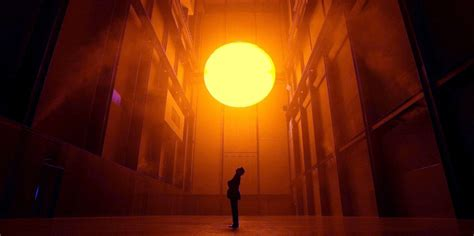 Olafur Eliasson Sun by What We Learn From That Challenges Us Widening
