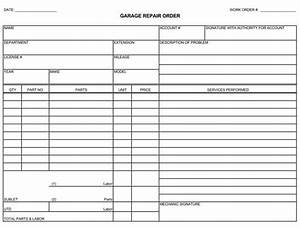 automotive repair orders templates auto repair invoice templates 10 printable and fillable