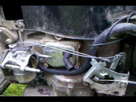 Murray Mower Carburetor Diagram by Murray Tecumseh Ohv16 Throttle Linkage