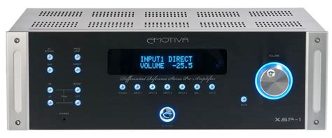 emotiva audio xsp  differential reference preamp preview