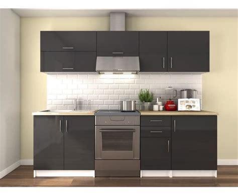meuble cuisine complet cuisine meuble gris cuisine en image