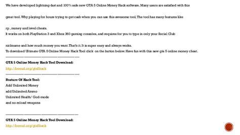 Gta 5 Online Money Hack For Ps3 Xbox 360 Gta V Unlimited Money