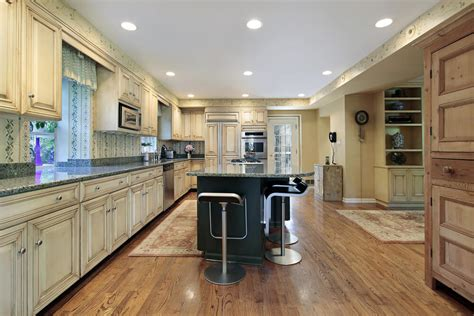 light colored hardwood floors 43 quot and spacious quot light wood custom kitchen designs