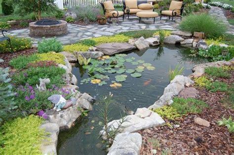 Cool Backyard by 67 Cool Backyard Pond Design Ideas Digsdigs