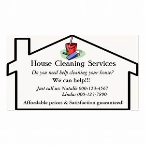 Cleaning services business card templates bizcardstudio for House cleaning business cards templates free