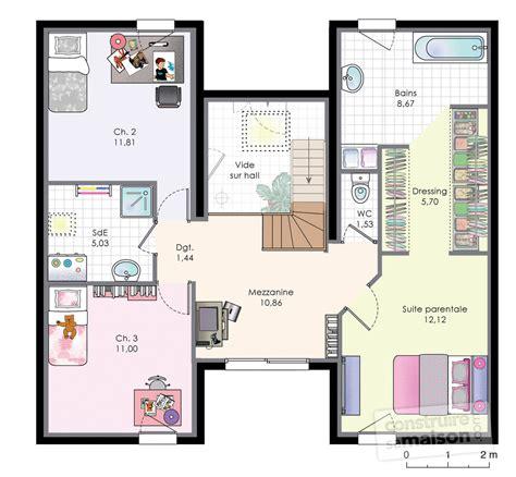 chambres d h es maison familiale 9 dé du plan de maison familiale 9