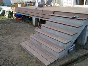 Habiller Escalier Exterieur Beton by Amenagement Exterieur La Construction De Notre Maison
