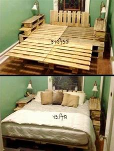 how to build platform bed king size Quick Woodworking