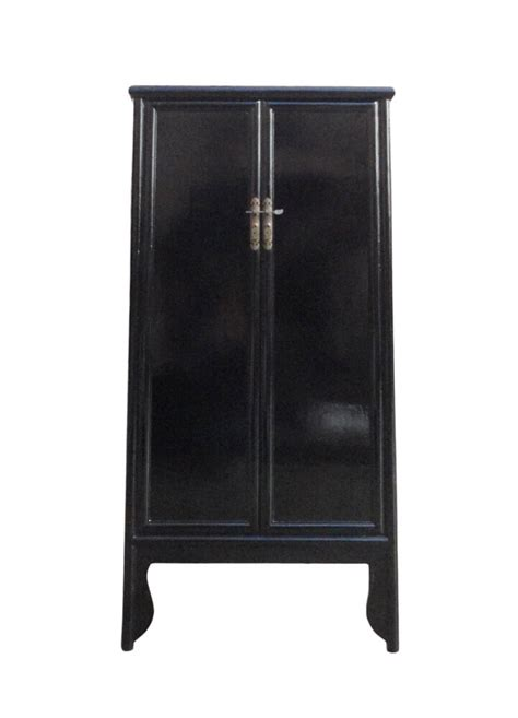 Japanese Armoire by Black Lacquer Armoires Cabinet