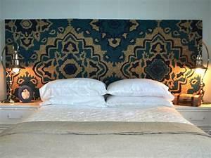 tete de lit orientale pour une chambre chic et exotique With tapis oriental avec canapé lit japonais