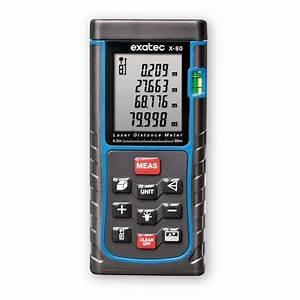 Mesureur De Distance Laser Portable : mesureur laser de distance x 80 halloint ~ Edinachiropracticcenter.com Idées de Décoration