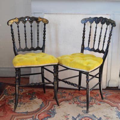 chaises napoléon 3 anciennes chaise ancienne tabouret ancien sur proantic napoleon iii