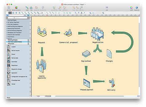 Office Desk Visio Stencils by How To Open Ms Visio 174 2013 2016 Files On A Mac 174 Using