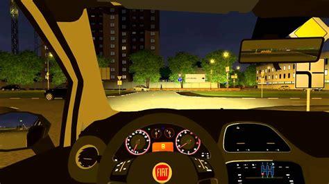 city car driving  fiat punto evo youtube
