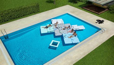 canap pour terrasse lit gonflable modulable piscine et terrasse signé pigro