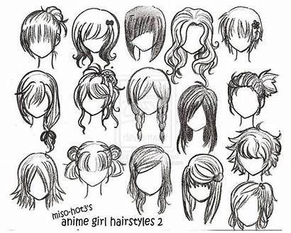 Anime Drawings Inspiration Drawing Hairstyles Awesome Draw