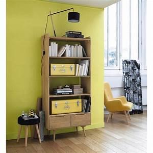 les 320 meilleures images du tableau deco retro vintage With lovely meuble cuisine maison du monde 5 petit fauteuil en tissu jaune vintage maison du monde